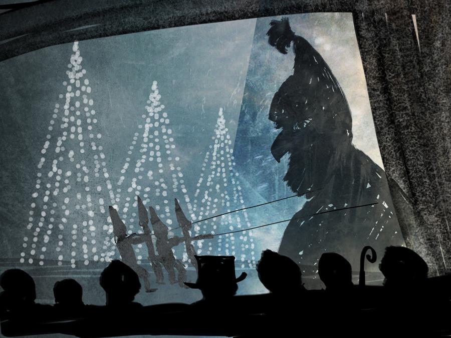 Nissarna på Hede Ateljé önskar god jul