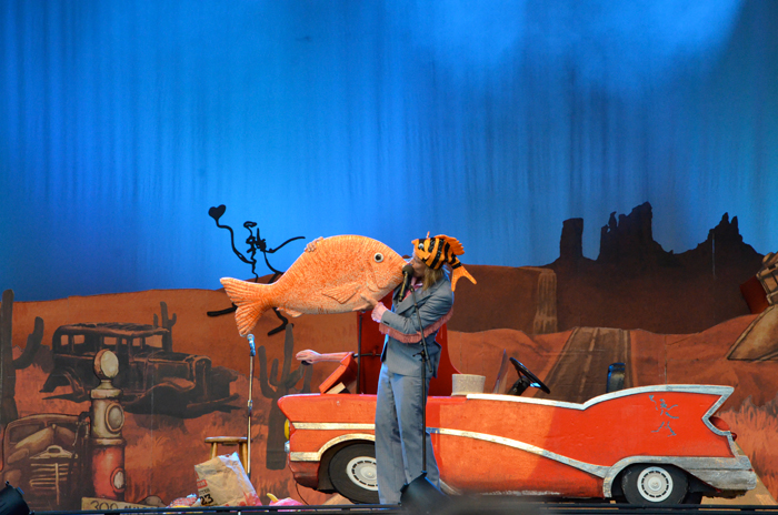 Scenografi med motorstopp på Lisebergs scen